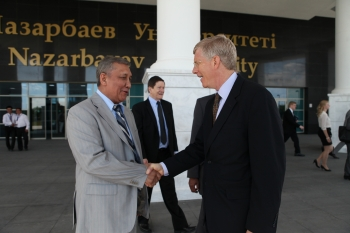 Last month, Deputy Secretary Daniel Poneman made his third official visit to Kazakhstan, where he met with public and private officials over the course of two days.