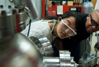 National Renewable Energy Lab Scientist Ki Ye.   Photo by Dennis Schroeder.