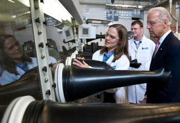 Join our Women in Clean Energy Twitter Chat this Wednesday, June 27 at 1 pm EDT. | Photo courtesy of Dennis Schroeder/NREL.