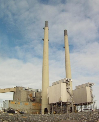 284W Power House on the Hanford Site