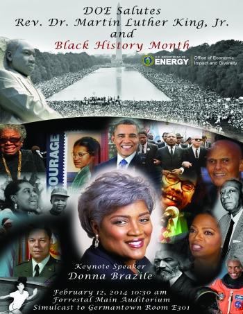 MLK Day/Black History Month DOE Celebration