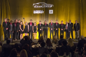 The Ohio State University won year two of the four-year EcoCAR 3 Competition. |  Photo by Advanced Vehicle Technology Competition