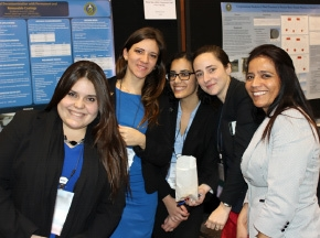 DOE Fellows at the Waste Management 2014 Conference Student Poster Competition.