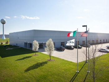 Brevini Wind is building a 127,000-square foot state-of-the-art factory in Muncie, Ind.| Photo courtesy of Brevini Wind