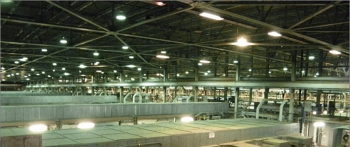 The X-326 Process Building cell floor prior to component removal.