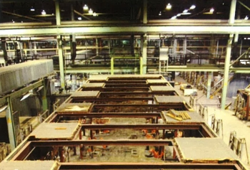 In all, more than 7,000 components have been removed from the cell floor of the X-326 Process Building, a structure with a footprint of more than 30 acres. More than 6,800 of the components have been shipped off-site for disposal.