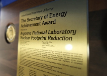 The Secretary of Energy Achievement Award is presented to a group or team of employees who together accomplished significant achievements on behalf of the Department. | Energy Department photo.
