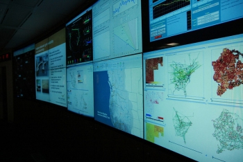 "Pacific Northwest National Laboratory's <a href=""http://www.pnnl.gov/news/release.aspx?id=948"">GridLAB-Dâ""¢ tool</a> works to simulate all aspects of the energy grid from generation to end use allowing users to see the future of the grid like never before. 
