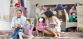Whether you BBQ with family or take a road trip, save money and energy this Independence Day.   Photo courtesy of ©iStockphoto.com/HeroImages