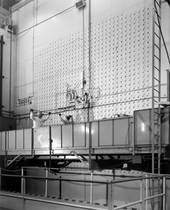The Graphite Reactor at the Oak Ridge National Laboratory would be one of the featured stops for visitors of the Manhattan Project National Historical Park.