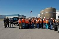Idaho's Advanced Mixed Waste Treatment Project employees prepare to send the 10,000th shipment to the Waste Isolation Pilot Plant.