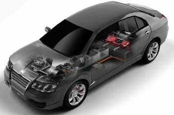 A123 battery in passenger vehicle application   Photo Courtesy of A123 Systems