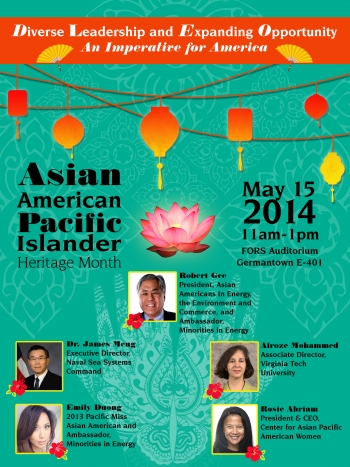 Celebrating Asian American Pacific Islander Heritage Month at the Energy Department