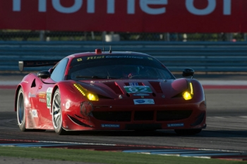 The #62 Ferrari in action during the American Le Mans Series race at the Circuit of the Americas. | Photo courtesy of Rizzo Motorsports Images
