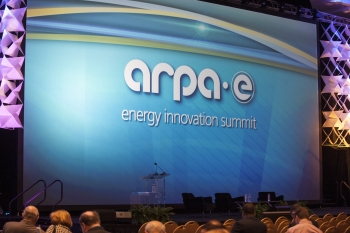 The backdrop of the 2014 ARPA-E Innovation Summit. | Photo courtesy of ARPA-E.