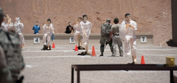 Active Shooter Training Workshop | Movement to Contact Live Fire Drill with 3D Targets