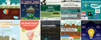 These infographics, created by teams of high school and university students from across the country for the Geothermal Design Challenge, highlight the importance of geothermal energy for achieving a cleaner, greener energy future.