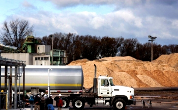 API ships first RIN-qualified cellulosic ethanol from their Alpena Biorefinery. Photo: Alex Wisniewski