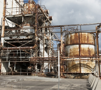 Cleanup of COLEX, chemical separation process equipment, continues.