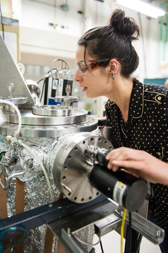 Angela Fioretti is a Joint Ph.D student at the National Renewable Energy Laboratory in Golden, Colorado, focusing on photovoltaic materials research.