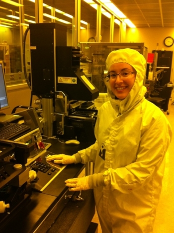 Astrid Tomada, Staff Engineer at SLAC National Accelerator Laboratory.