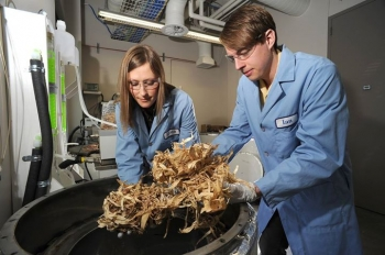 The Bioenergy Technologies Office is studying ways to economically process, transport and formulate raw biomass to develop new, more sustainable advanced biofuels that can take advantage of advanced engines' new characteristics. | Idaho National Laboratory