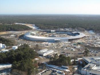 Brookhaven National Lab's NSLS II Construction Site   Photo Courtesy of Brookhaven National Lab