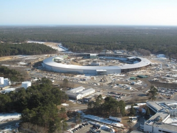 Brookhaven National Lab's NSLS II Construction Site | Photo Courtesy of Brookhaven National Lab