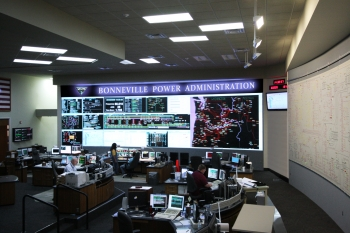 BPA's Dittmer Control Center