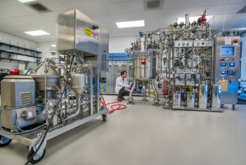 Mango Materials' new process is being tested at Lawrence Berkeley National Laboratory's Advanced Biofuels Process Demonstration Unit. Photo Berkeley Lab
