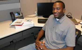 Brian Andrews is a former meter reader who now works with smart meter and intelligent grid projects. | Image courtesy of CenterPoint Energy.