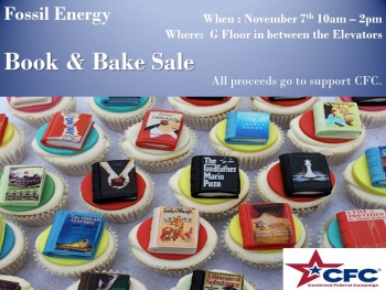 Fossil Energy's Book and Bake Sale (Day 2)
