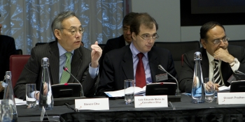 Energy Department Secretary Steven Chu in London for the Clean Energy Ministerial. | Photo courtesy Sustainable Energy for All.
