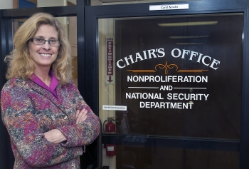 Ms. Kessler is the Chair of Nonproliferation & National Security Department at Brookhaven National Lab.