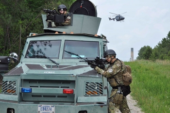 Centerra's special response team and aviation operations department are important elements of the SRS protective force.