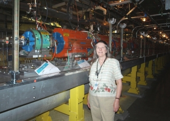 Cherrill Spencer is a Magnet Engineer at SLAC National Accelerator Laboratory.