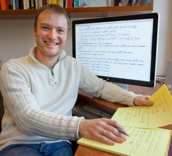Lawrence Berkeley National Laboratory Physicist Christian Bauer   Photo courtesy Roy Kaltschmidt, LBNL