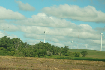 The Crow Lake Wind project is the largest cooperative-owned wind project in the United States.   Photo Courtesy of East River Electric Power Cooperative