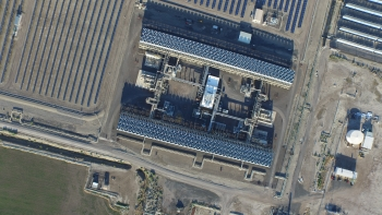 Engineers added a 2MW solar thermal power plant to support the existing geothermal plant. The thermal energy increases the temperature of the geothermal fluid entering the plant, increasing overall output.