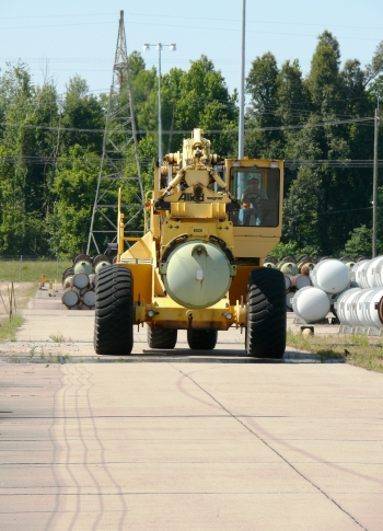 This June marks the start of work to feed about 1,100 14-ton cylinders filled with depleted uranium tails into the Paducah Gaseous Diffusion Plant.