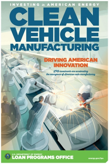"""Though not part of the Recovery Act, <a href=""""/node/1430056"""">LPO's Advanced Technology Vehicles Manufacturing (ATVM) loan program</a> has played a key role in helping the American auto industry propel the resurgence of manufacturing in the United States with $8 billion in loans and commitments to projects that have supported the production of more than 4 million fuel-efficient cars."""