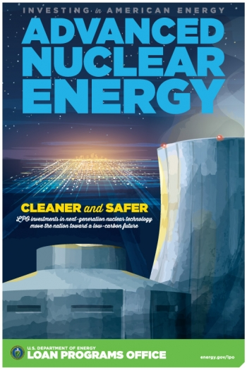 """Through the Title XVII program, LPO investments in <a href=""""/node/1430061"""">next-generation nuclear technology</a> move the nation toward a low-carbon future."""