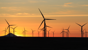 Innovations in clean energy like wind power are a crucial part of fighting climate change. | Photo courtesy of the Department of Energy Loan Programs Office.