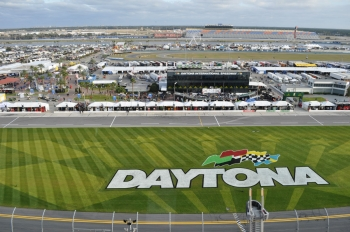 Daytona International Speedway was the site of the Rolex 24 at Daytona, the first race of this year's Green Racing season. | Photo by Lee Slezak, Energy Department