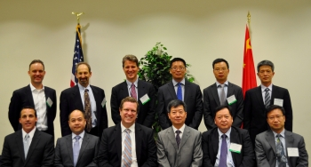 The U.S. and Chinese delegations met at the fourth U.S.-China Renewable Energy Industries Forum in Washington, D.C., to assess ongoing collaborations and explore new opportunities for joint analysis on clean energy.   <em>Photo by Josh Harmon</em>