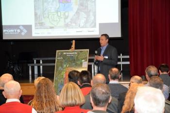 EM Portsmouth Site Lead Joel Bradburne discusses cleanup operations.