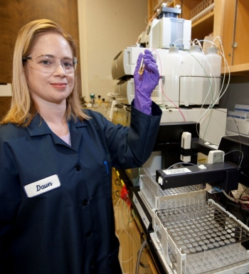 Dawn Shaughnessy has recently been appointed group leader for the newly created Experimental Nuclear and Radiochemistry Group, in the Chemical Sciences Division at Lawrence Livermore National Laboratory.