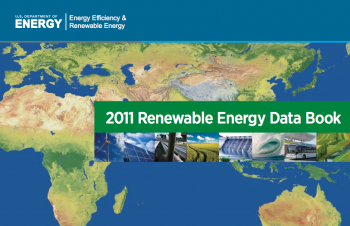 The 2011 Renewable Energy Data book contains facts and figures on the U.S. and global renewable energy industry.