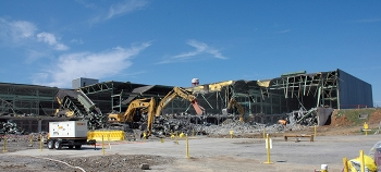 Demolished in 2006, Building K-29 was the first of the five gaseous diffusion buildings to be removed.