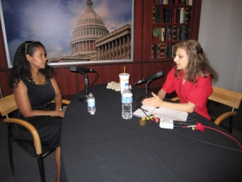 Dr. Karina Edmonds, the Department's Technology Transfer Director, speaks with Joan Michelson of Green Connections Radio about women in STEM last July. This week she is receiving a Career Achievement Award from Women of Color Magazine.
